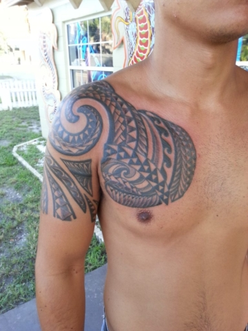 Polyneisan tattoo tampa