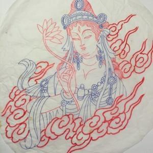 Oriental tattoo design from Japanese tattoo artist in florida