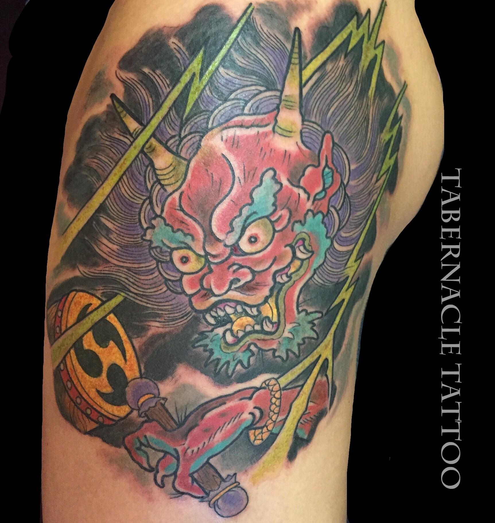 Raijin tattoo tabernacle tattoo tampa florida for Tattoo shops in ybor