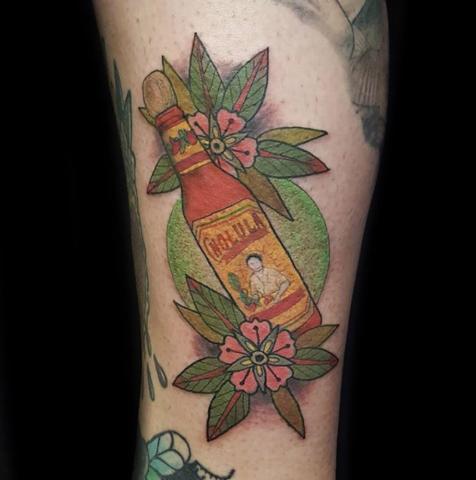 Hot Sauce Tattoo