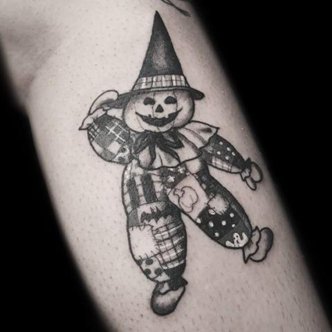 Patchwork Scarecrow